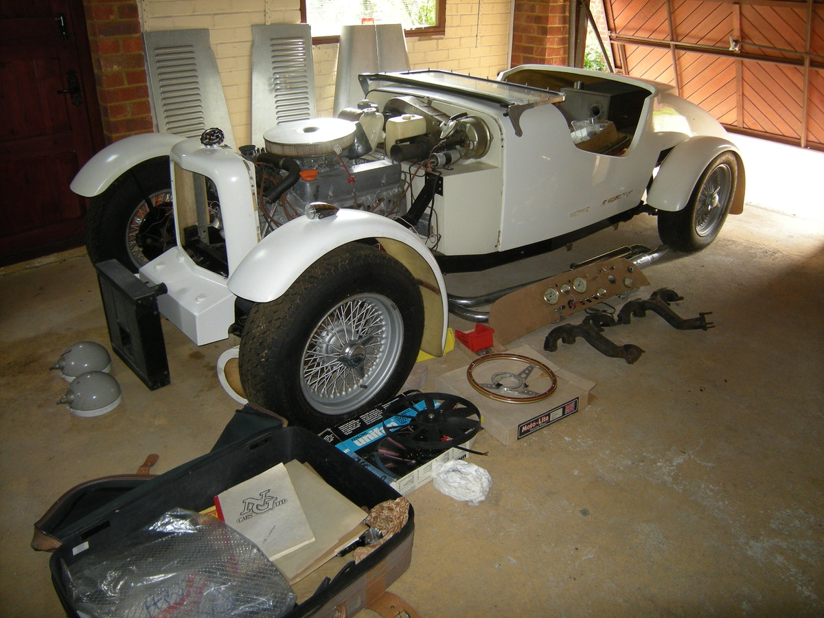 1982 MG TC V8 Unfinished Project For Sale (picture 1 of 3)