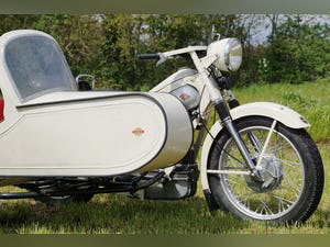 Nimbus with sidecar in ivory white For Sale (picture 2 of 10)
