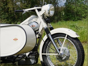 Nimbus with sidecar in ivory white For Sale (picture 3 of 10)