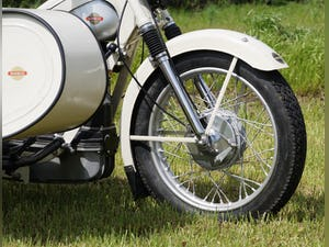 Nimbus with sidecar in ivory white For Sale (picture 4 of 10)
