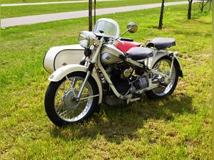 Nimbus with sidecar in ivory white For Sale (picture 7 of 10)