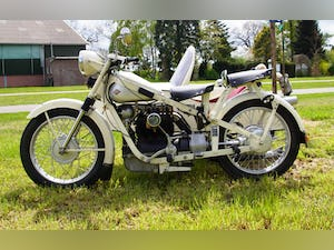 Nimbus with sidecar in ivory white For Sale (picture 8 of 10)