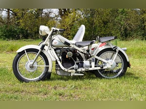 Nimbus with sidecar in ivory white For Sale (picture 10 of 10)