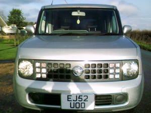 2002 nissan cube 1.4 automatic finished in star silver metallic For Sale (picture 1 of 6)