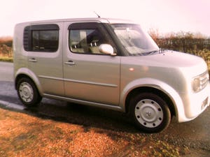 2002 nissan cube 1.4 automatic finished in star silver metallic For Sale (picture 2 of 6)