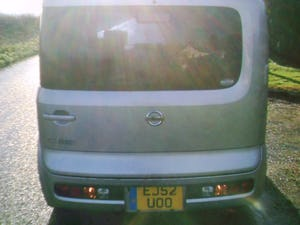 2002 nissan cube 1.4 automatic finished in star silver metallic For Sale (picture 3 of 6)