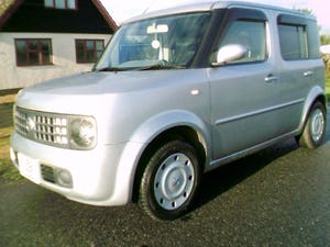 2002 nissan cube 1.4 automatic finished in star silver metallic For Sale (picture 4 of 6)