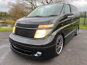 2003 NISSAN ELGRAND 3.5 AUTOMATIC CUSTOM BODYSTYLING & ALLOYS * For Sale (picture 1 of 6)