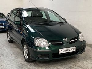 Picture of 2004 NISSAN ALMERA TINO* GENUINE 26,000 MILES* FULL NISSAN S/HIST For Sale
