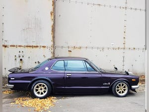 1970 Nissan Skyline Hakosuka RB2.6 twin turbo SOLD (picture 1 of 10)