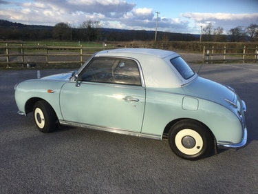 Picture of 1992 Pale Blue Figaro (convertible) For Sale