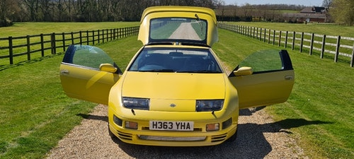 Picture of 1990 Rare U.K. 300 ZX Twin Turbo manual in yellow stunning For Sale