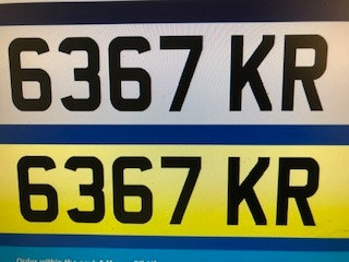 Picture of Kr  dateless plate For Sale