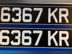 Kr  dateless plate For Sale (picture 3 of 4)
