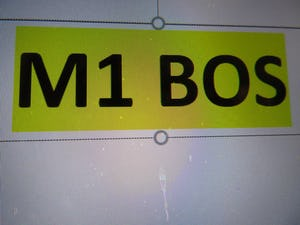 M1 bos on retention For Sale (picture 1 of 1)