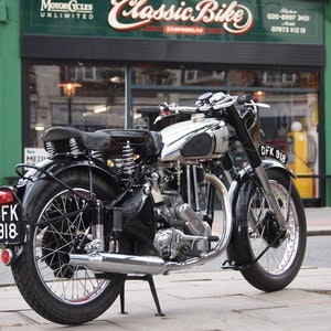 Picture of 1950 Extremely Original Norton ES2 500, Must See. SOLD