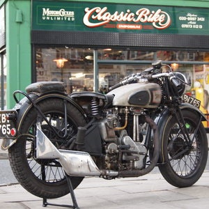 Picture of 1946 499cc Model 18 Norton, RESERVED FO TAFF. SOLD