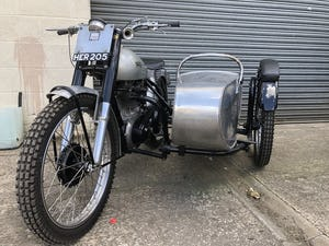 1951 NORTON 500T 500 T TRIALS COMBINATION CANTERBURY SIDE CAR For Sale (picture 1 of 6)