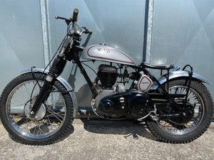 1945 NORTON RIGID TRIALS CLASSIC VERY CAPABLE BIKE WITH V5 £7995  For Sale (picture 2 of 6)