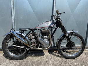 1945 NORTON RIGID TRIALS CLASSIC VERY CAPABLE BIKE WITH V5 £7995  For Sale (picture 4 of 6)
