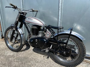 1945 NORTON RIGID TRIALS CLASSIC VERY CAPABLE BIKE WITH V5 £7995  For Sale (picture 5 of 6)