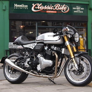 Picture of 2017 No.2 of 3 Limited Edition Norton Dominator ManxMan. SOLD