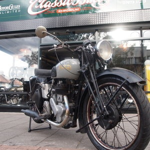 Picture of 1946 Norton 16H Side Valve, Matching Numbers, Working Oily Rag. For Sale