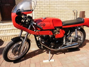 1966 Norton 650ss cafe racer For Sale (picture 1 of 12)