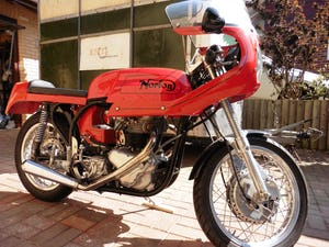 1966 Norton 650ss cafe racer For Sale (picture 2 of 12)