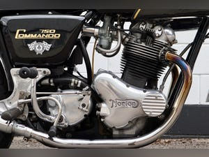 1972 Norton Commando 750cc - Matching Numbers For Sale (picture 11 of 20)
