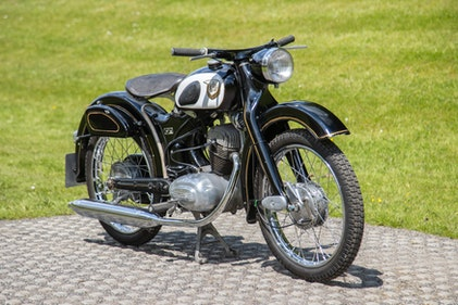 Picture of 1956 NSU 125 OSB Superfox For Sale by Auction