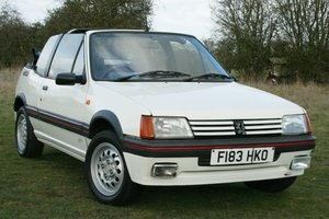 Picture of 1989 Peugeot 205 1.6 CTI  SOLD