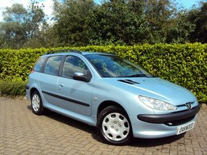 Picture of 2005 A Lovely Low Mileage Peugeot 206 1.4i SW Estate For Sale