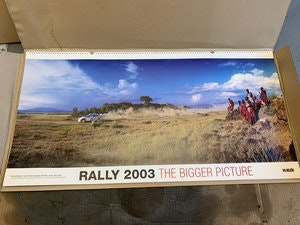 Picture of The Bigger Picture WRC 2003 Calendar McKlein For Sale