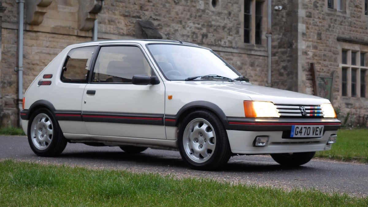 1989 Peugeot 205 GTi 1.9 L The Legendary Hot Hatch For Sale (picture 1 of 6)