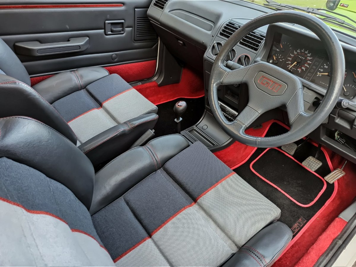 1989 Peugeot 205 GTi 1.9 L The Legendary Hot Hatch For Sale (picture 6 of 6)