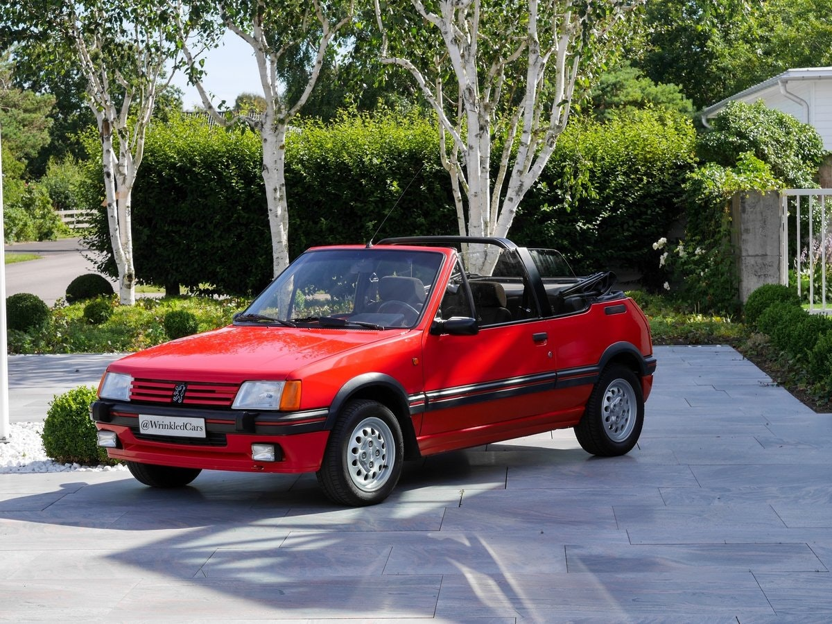 1988 Swedish Peugeot 205 CTI For Sale by Auction (picture 1 of 6)
