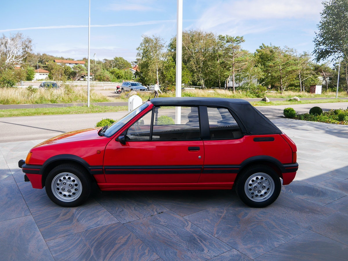 1988 Swedish Peugeot 205 CTI For Sale by Auction (picture 4 of 6)