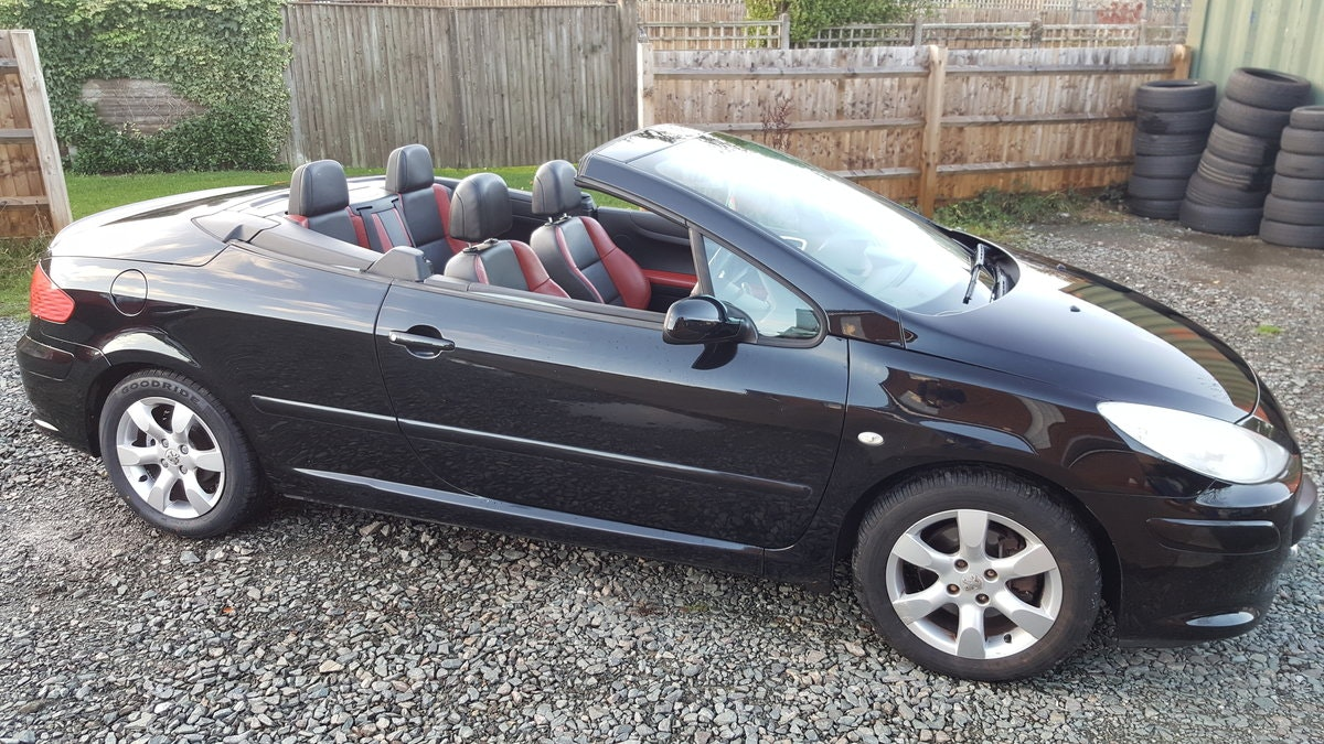 2008 PEUGEOT 307 ALLURE CABRIOLET For Sale (picture 1 of 4)