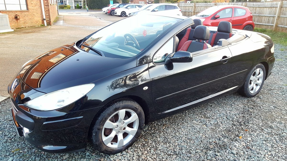 2008 PEUGEOT 307 ALLURE CABRIOLET For Sale (picture 3 of 4)