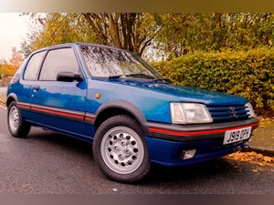 1991 Peugeot 205 1.6 GTi Series II For Sale (picture 1 of 6)