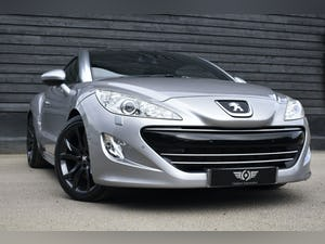 2011 Peugeot RCZ 1.6 THP GT 200 Low Mileage+RAC Approved For Sale (picture 1 of 12)