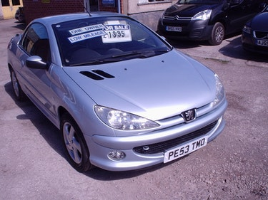 Picture of 2004 PEUGEOT 206 CONVERTIBLE LOW MILEAGE For Sale
