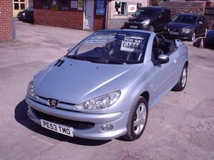 2004 PEUGEOT 206 CONVERTIBLE LOW MILEAGE For Sale (picture 10 of 11)