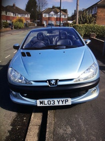 Picture of 2003 206 convertible For Sale