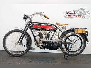 Peugeot 3,5hp 1919 344cc 2 cyl sv V-twin For Sale (picture 2 of 10)