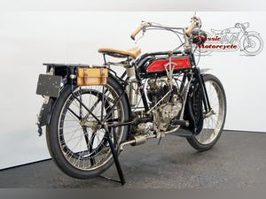 Peugeot 3,5hp 1919 344cc 2 cyl sv V-twin For Sale (picture 6 of 10)