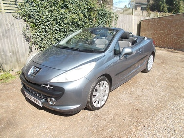 Picture of 2007 PEUGEOT 207 GT TURBO CC CONVERTIBLE NEW MOT FSH For Sale