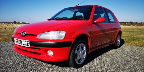 Picture of 1999 Cherry Red Peugeot 106 GTi. For Sale