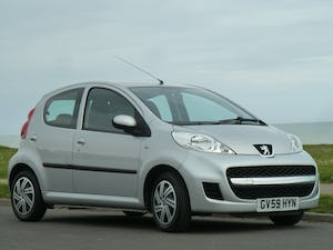 2009 PEUGEOT 107 1.012v URBAN VERY LOW MILEAGE FULL HISTORY For Sale (picture 1 of 12)